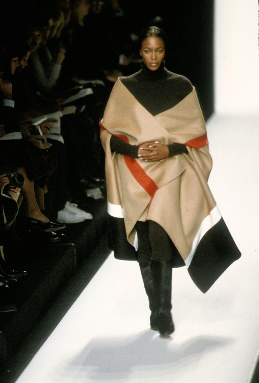 Наоми Кэмпбелл на показе Michael Kors осень-зима - 1999
