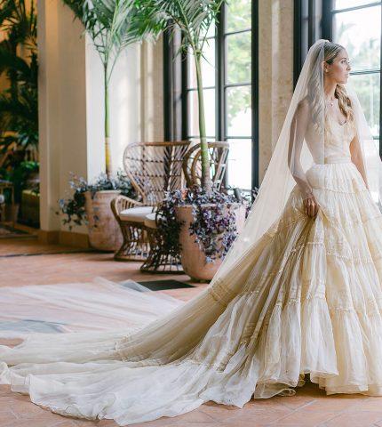 Еще одна из клана Кеннеди: Внучатая племянница экс-президента США вышла замуж в винтажном платье-430x480