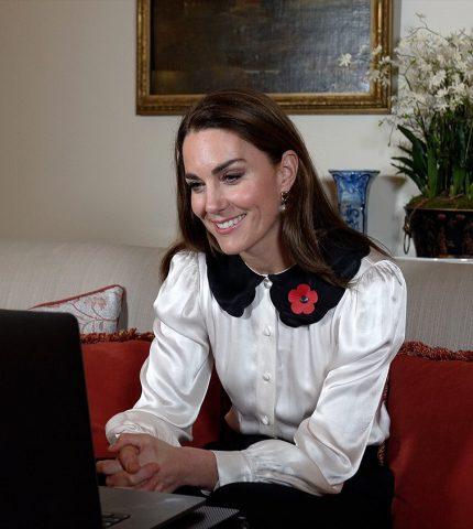 Кейт Миддлтон повторила культовый образ принцессы Дианы-430x480