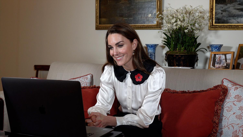 Кейт Миддлтон повторила культовый образ принцессы Дианы-Фото 1