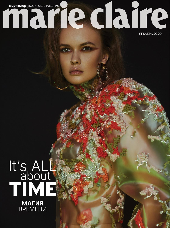 Digital-обложка Marie Claire — декабрь 2020-Фото 1