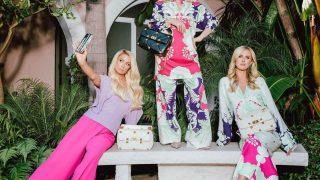 Девушки семейства Хилтон позируют в рекламной кампании Valentino-320x180