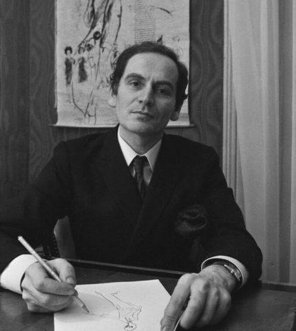 В возрасте 98 лет скончался легендарный кутюрье Пьер Карден-430x480