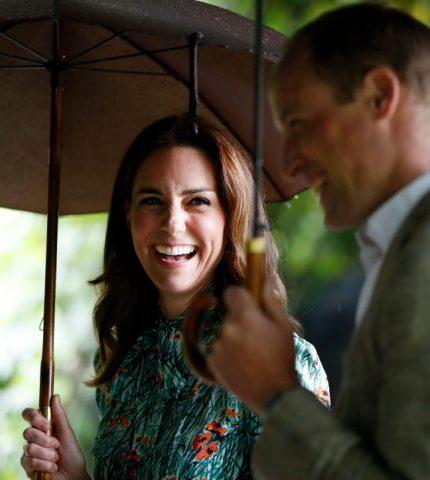 Кейт Миддлтон и принц Уильям отправляются на поезде в путешествие по Великобритании-430x480