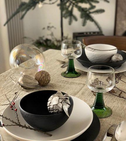 Новогодний и рождественский стол – какая разница?-430x480