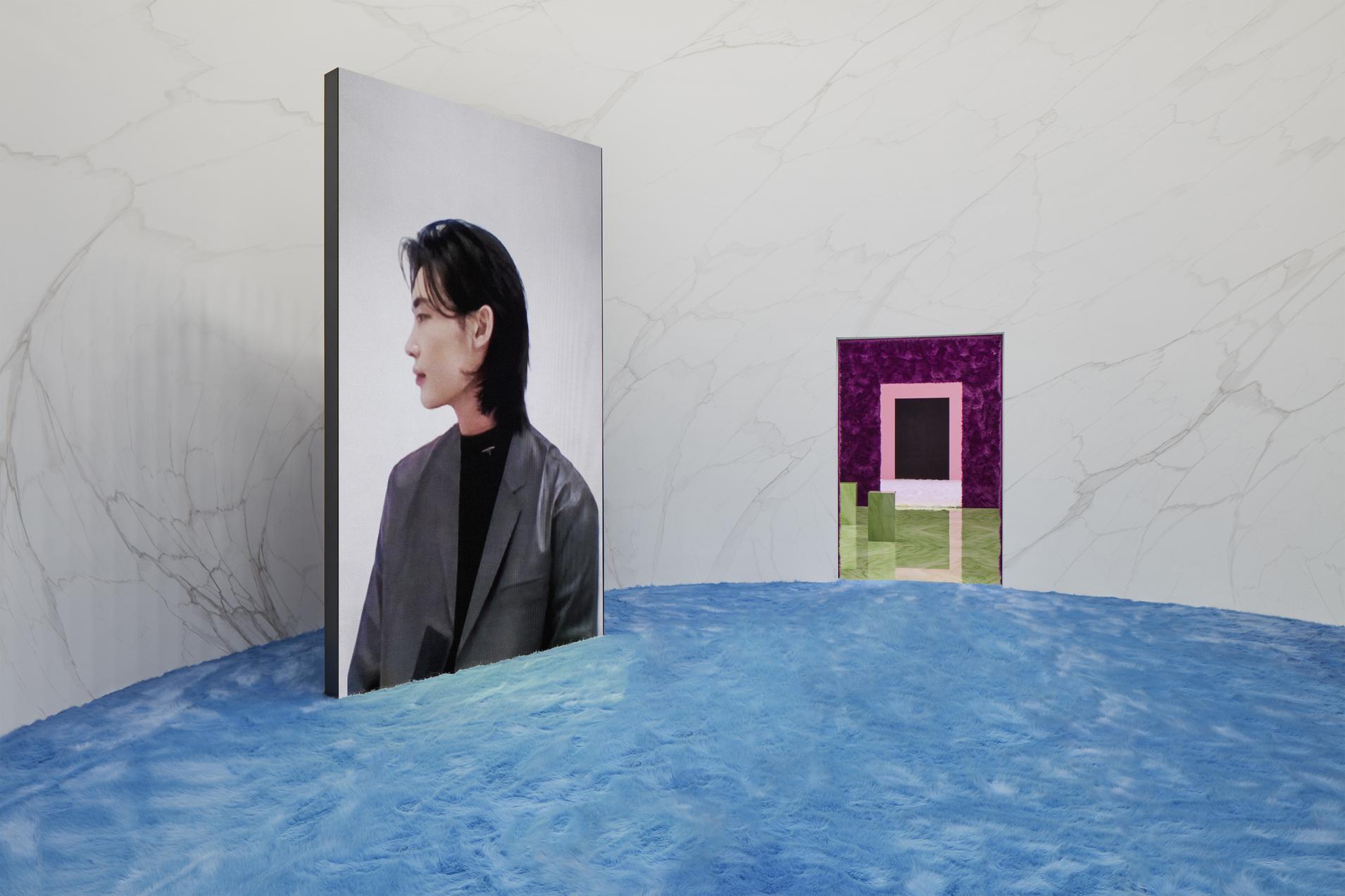 Ли Чон Сок на показе Prada