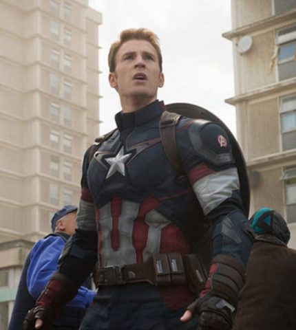 Крис Эванс может вновь исполнить роль Капитана Америка-430x480