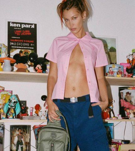 Белла Хадид демонстрирует самое модное окрашивание начала 2021 года-430x480