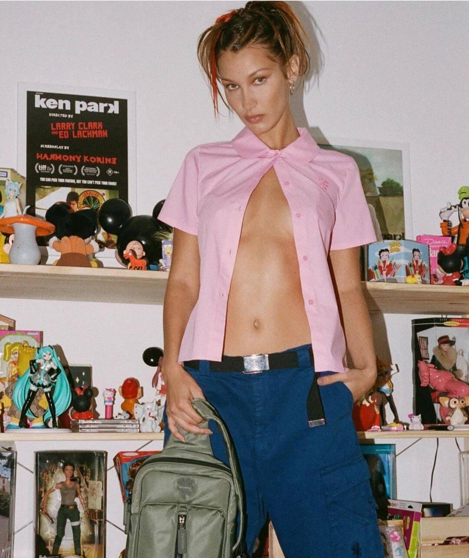 Белла Хадид демонстрирует самое модное окрашивание начала 2021 года-Фото 1