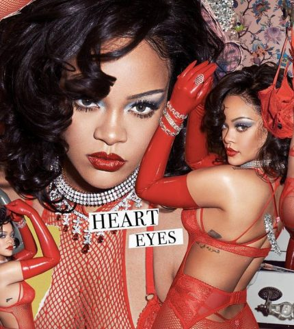День святого Валентина: Рианна примерила образ Savage Х Fenty за 2 млн долларов-430x480