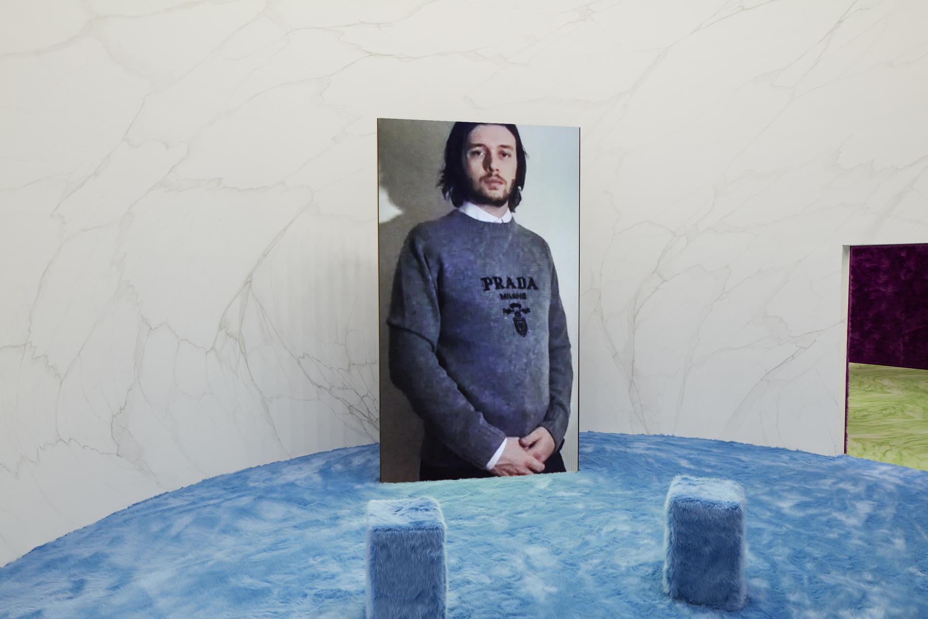 Ник Робинсон на показе Prada