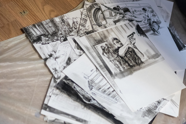 Воювати за Донбас мистецтвом. Ukraїner розповів історію художника, який пройшов полон та катування-Фото 3