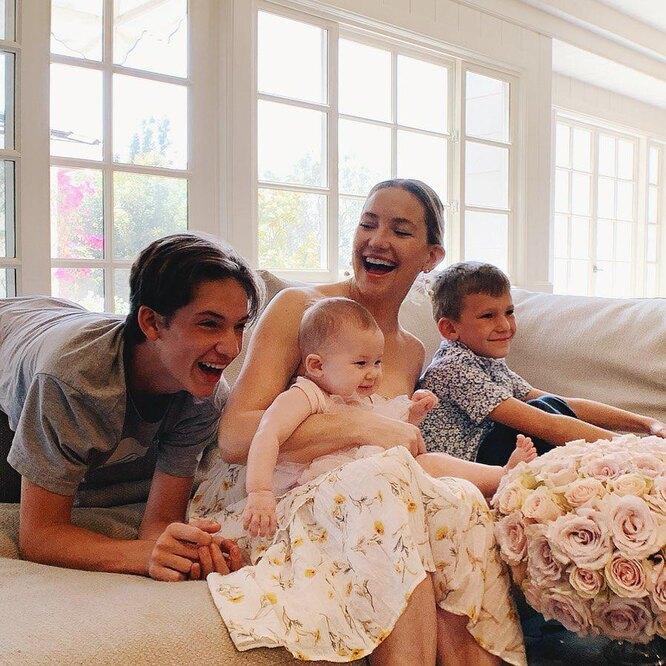 Кейт Хадсон рассказала, о том, как сложнорастить детей от разных мужчин-Фото 1