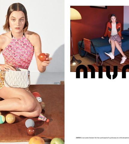 MIND MAPPING: Рекламная кампания MIU MIU весна-лето 2021-430x480