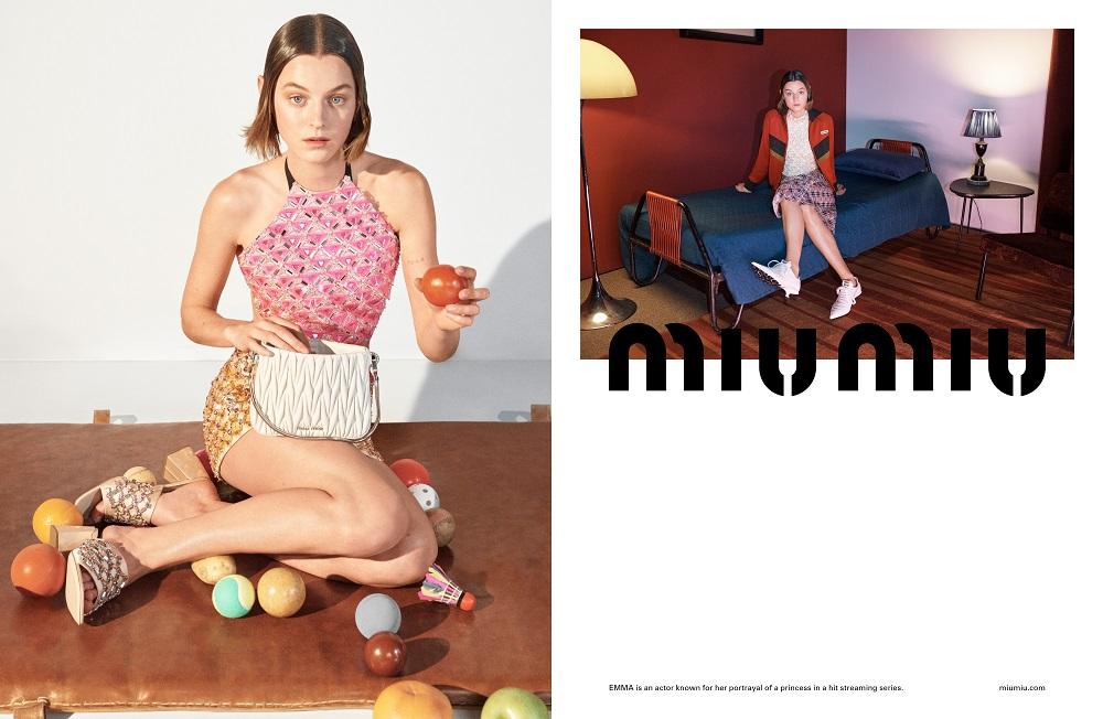 MIND MAPPING: Рекламная кампания MIU MIU весна-лето 2021-Фото 2