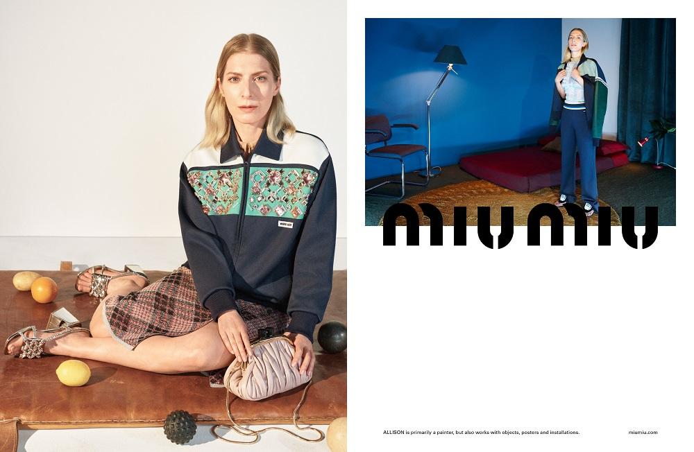 MIND MAPPING: Рекламная кампания MIU MIU весна-лето 2021-Фото 4