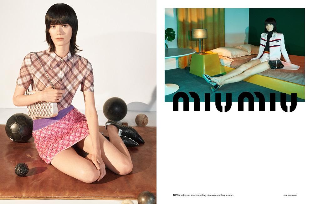 MIND MAPPING: Рекламная кампания MIU MIU весна-лето 2021-Фото 1