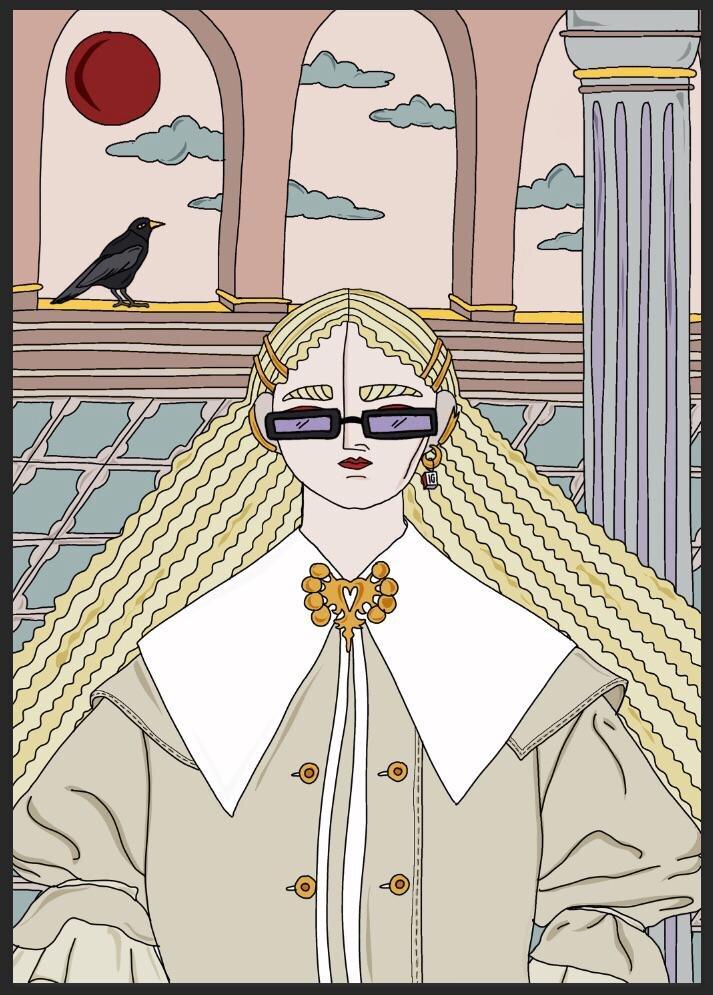 10 вопросов fashion-иллюстратору Ирен Джиллани от Питера Кардоны, директора отдела «Fashion» Marie Claire-Фото 8