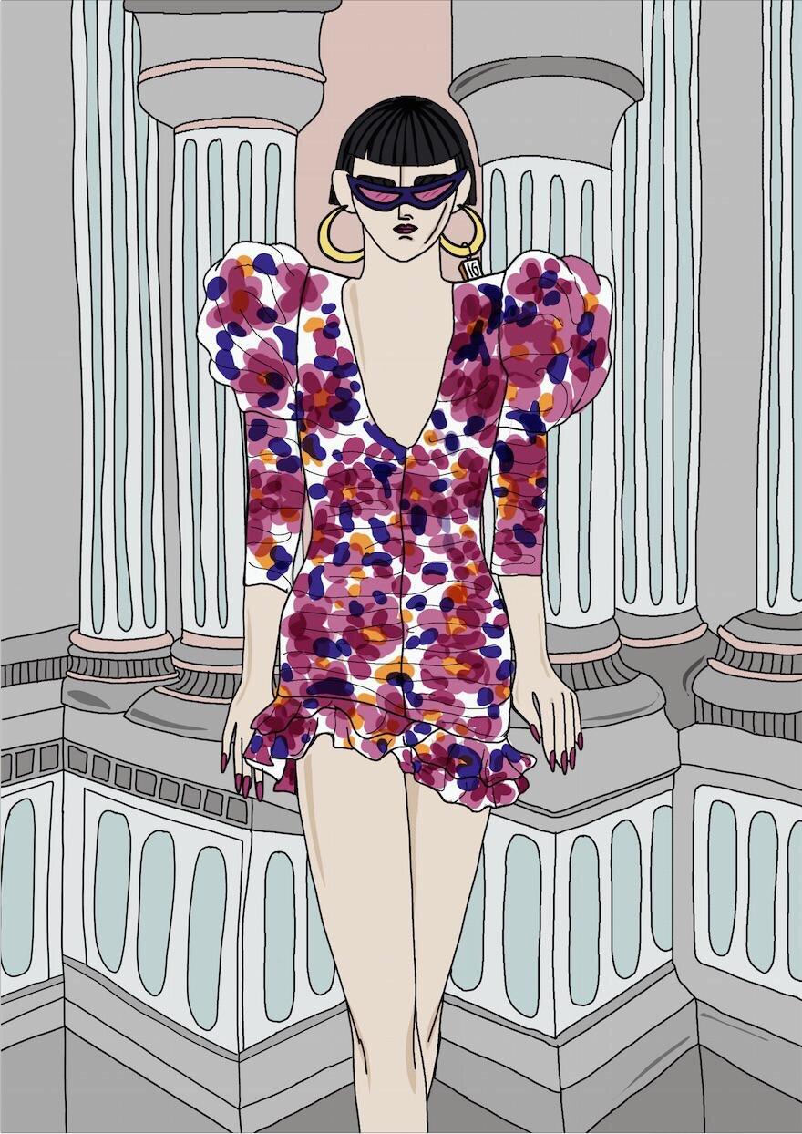 10 вопросов fashion-иллюстратору Ирен Джиллани от Питера Кардоны, директора отдела «Fashion» Marie Claire-Фото 9