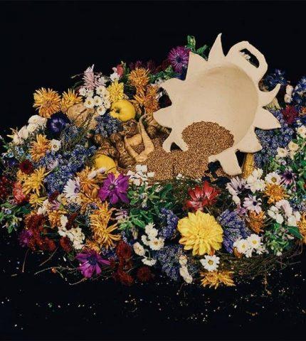 NADIIA X PEPPEROSE STUDIO представляют коллекцию керамики, вдохновленную работами Катерины Белокур-430x480