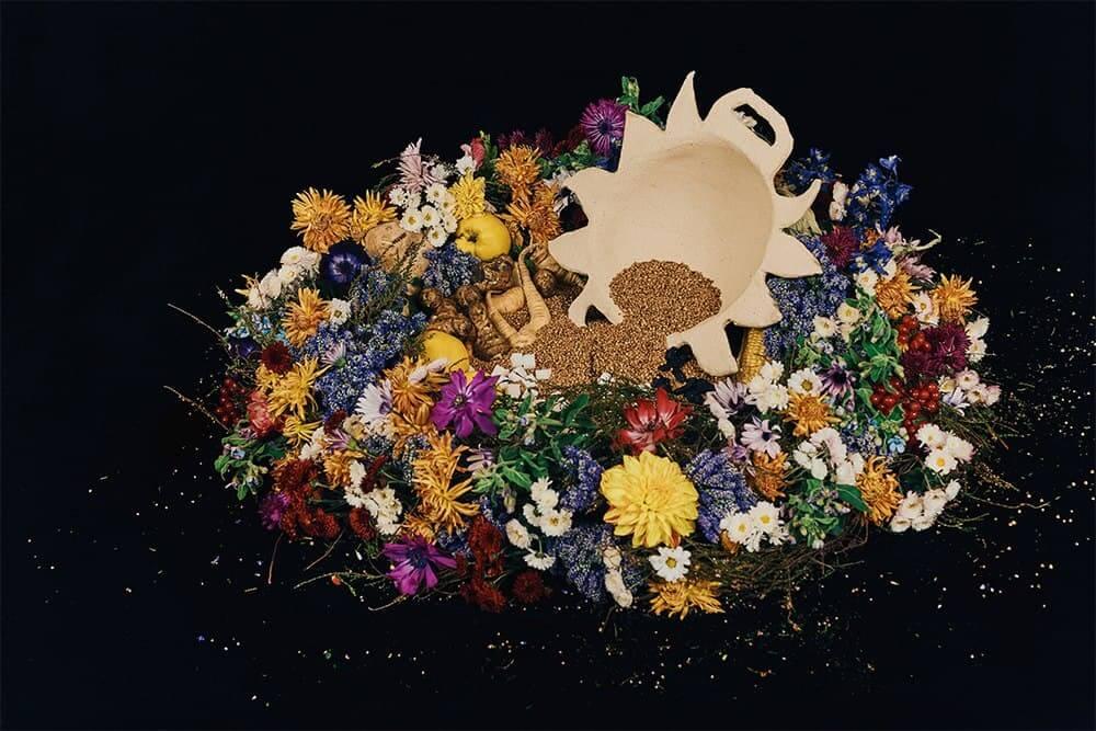 NADIIA X PEPPEROSE STUDIO представляют коллекцию керамики, вдохновленную работами Катерины Белокур-Фото 1