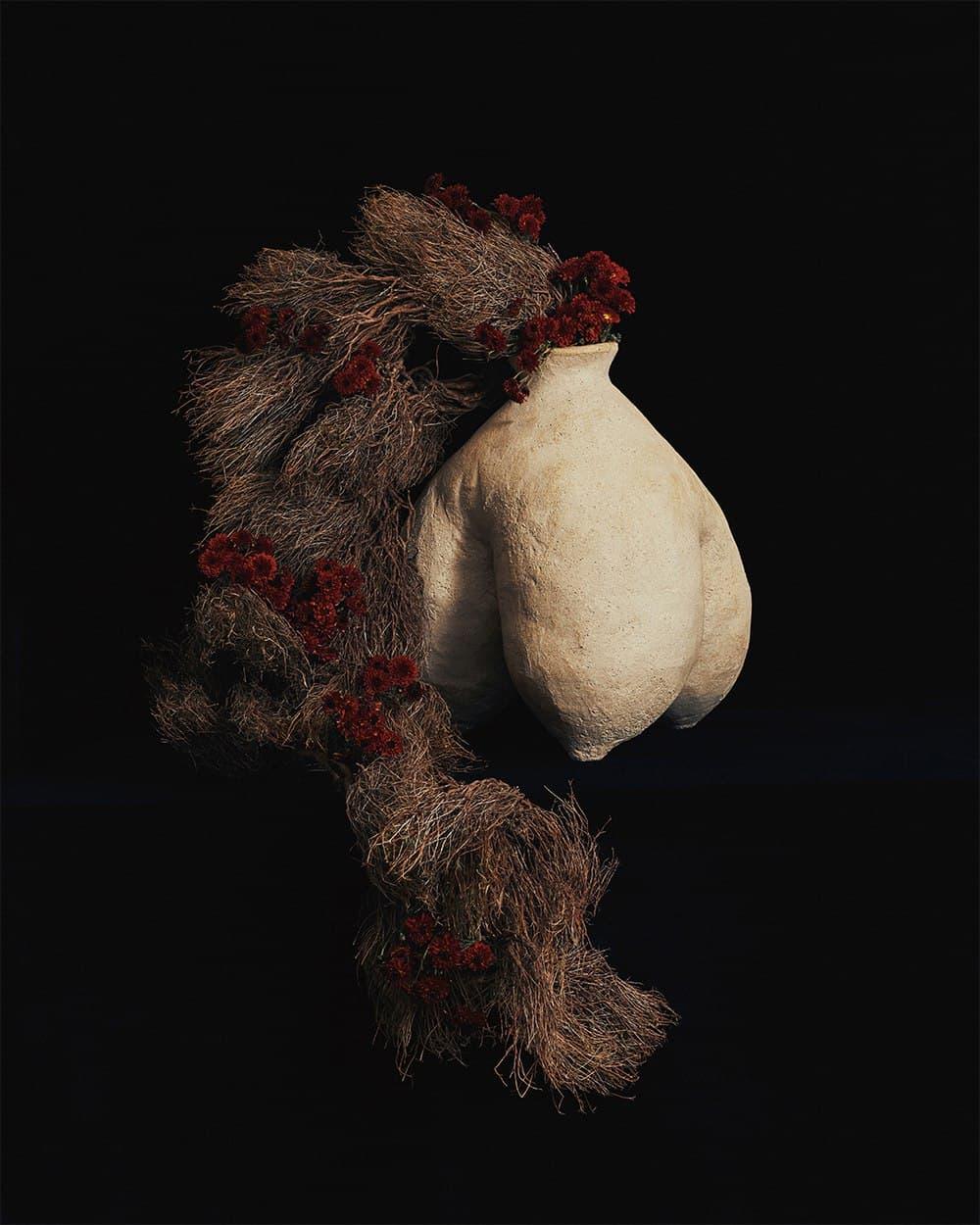 NADIIA X PEPPEROSE STUDIO представляют коллекцию керамики, вдохновленную работами Катерины Белокур-Фото 3