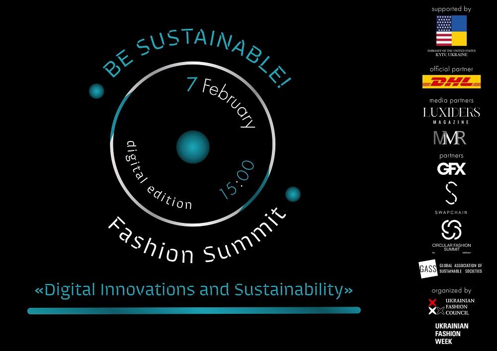 В Україні втретє відбудеться BE SUSTAINABLE! Fashion Summit-Фото 1