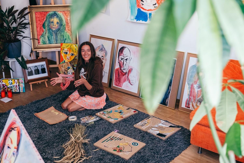 Допомагати Україні через мистецтво та освіту:  історія лучанки у Гамбурзі-Фото 1