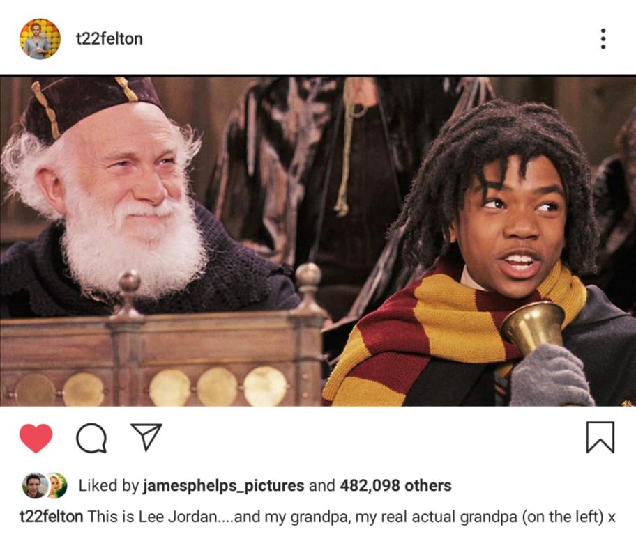 """Исполнитель ролиДракоМалфоярассказал, что его дедушка снялся в """"Гарри Поттере""""-Фото 2"""