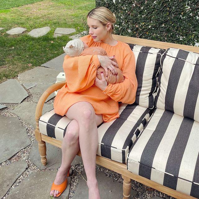 Эмма Робертс отмечает 30-летие, и рассказывает, как привыкает к роли мамы-Фото 3