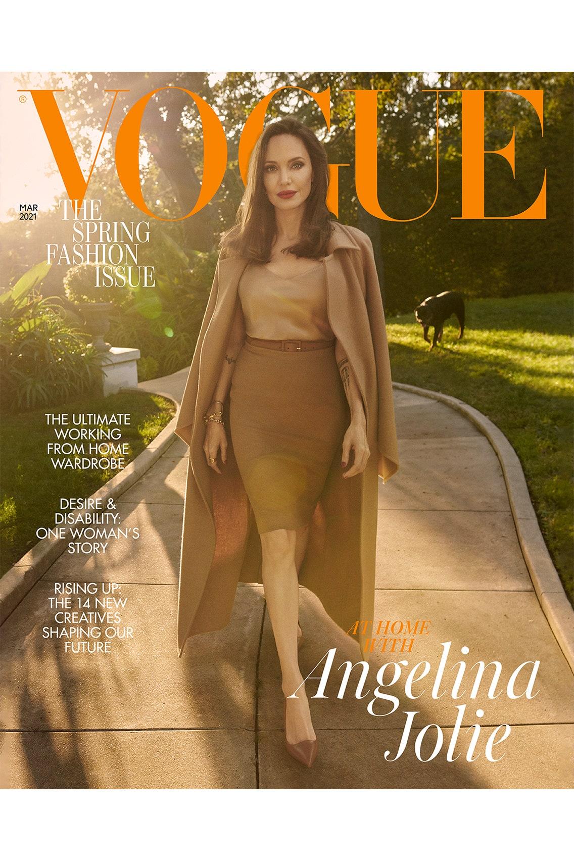 """Анджелина Джоли рассказала о трудностях последних лет, и """"выздоровлении"""" ее семьи-Фото 2"""