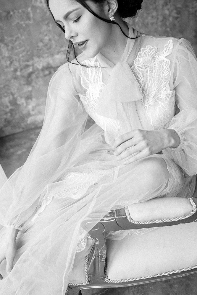 Digital-обложка Marie Claire: Бразильская модель Camila Luz примеряет свадебные платья из новых коллекций-Фото 10
