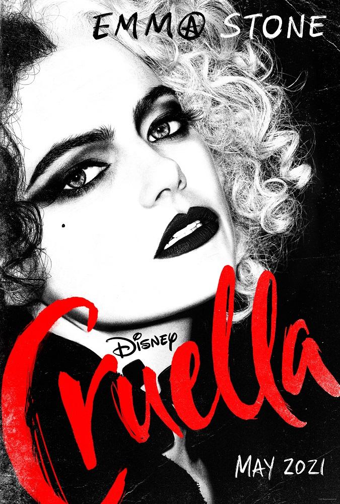 Вышел официальный постер с Эммой Стоун в образеКруэллыДеВиль-Фото 2