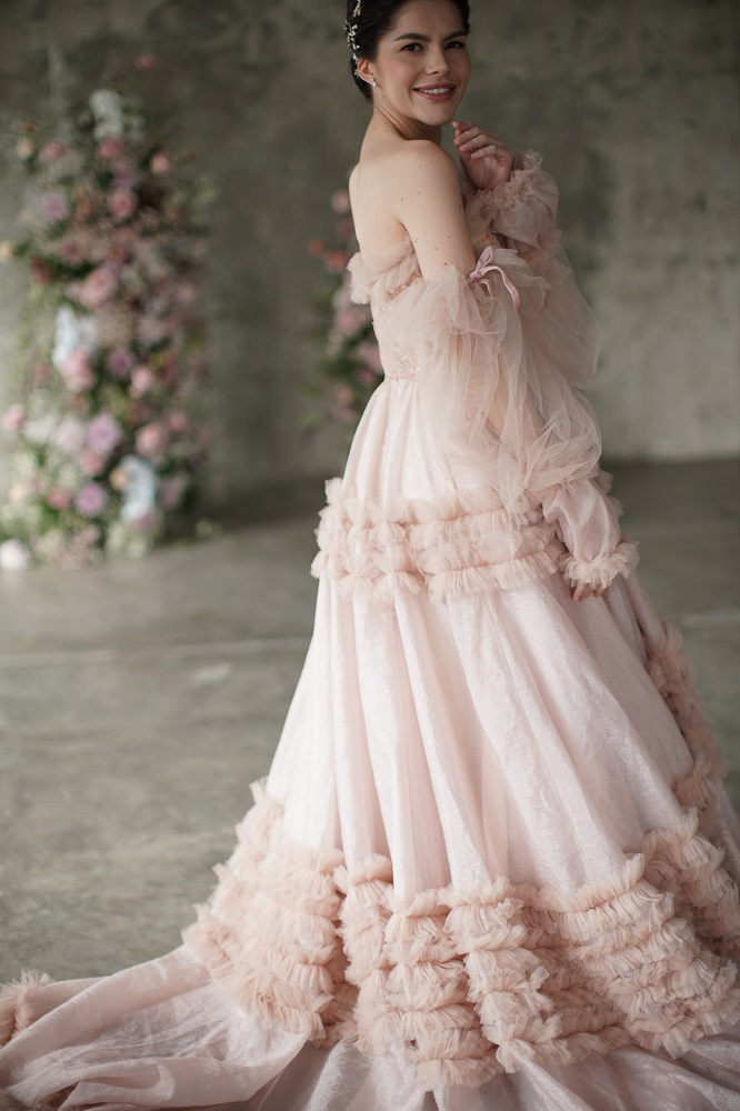 Digital-обложка Marie Claire: Бразильская модель Camila Luz примеряет свадебные платья из новых коллекций-Фото 7