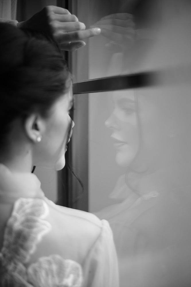 Digital-обложка Marie Claire: Бразильская модель Camila Luz примеряет свадебные платья из новых коллекций-Фото 4