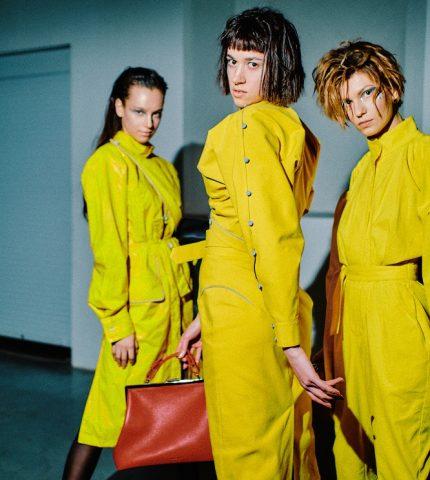 Новые имена: Коллекции молодых дизайнеров Ukrainian Fashion Week No Season-430x480