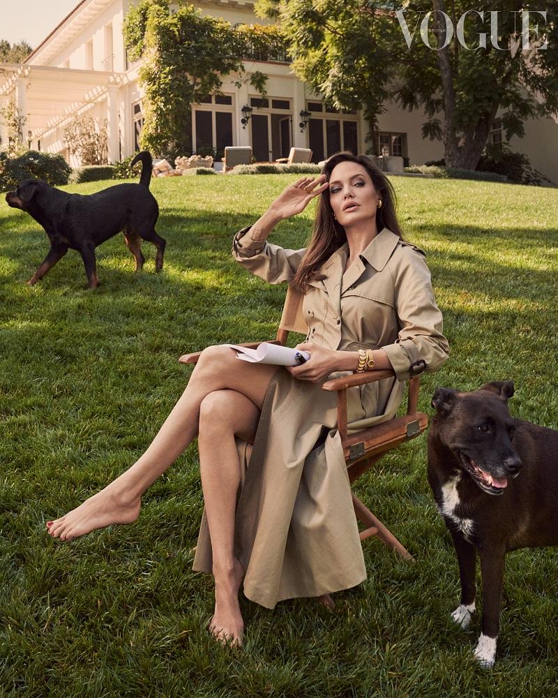 """Анджелина Джоли рассказала о трудностях последних лет, и """"выздоровлении"""" ее семьи-Фото 1"""