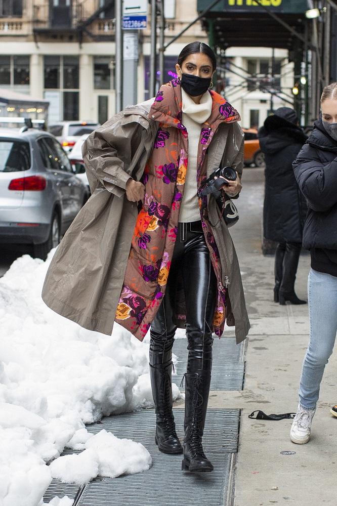Fashion-обзор: Главные тренды streetstyle на Неделе моды в Нью-Йорке зима 2021-Фото 1