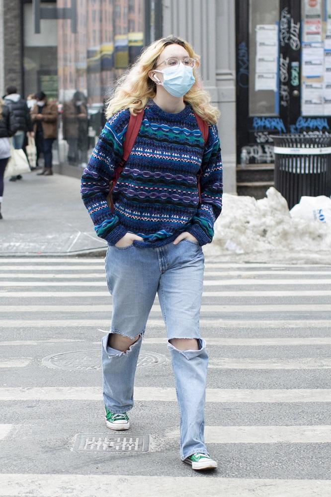 Fashion-обзор: Главные тренды streetstyle на Неделе моды в Нью-Йорке зима 2021-Фото 6