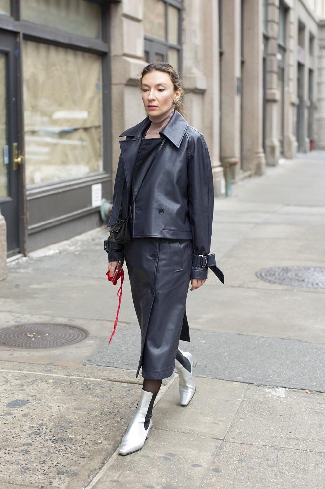 Fashion-обзор: Главные тренды streetstyle на Неделе моды в Нью-Йорке зима 2021-Фото 7