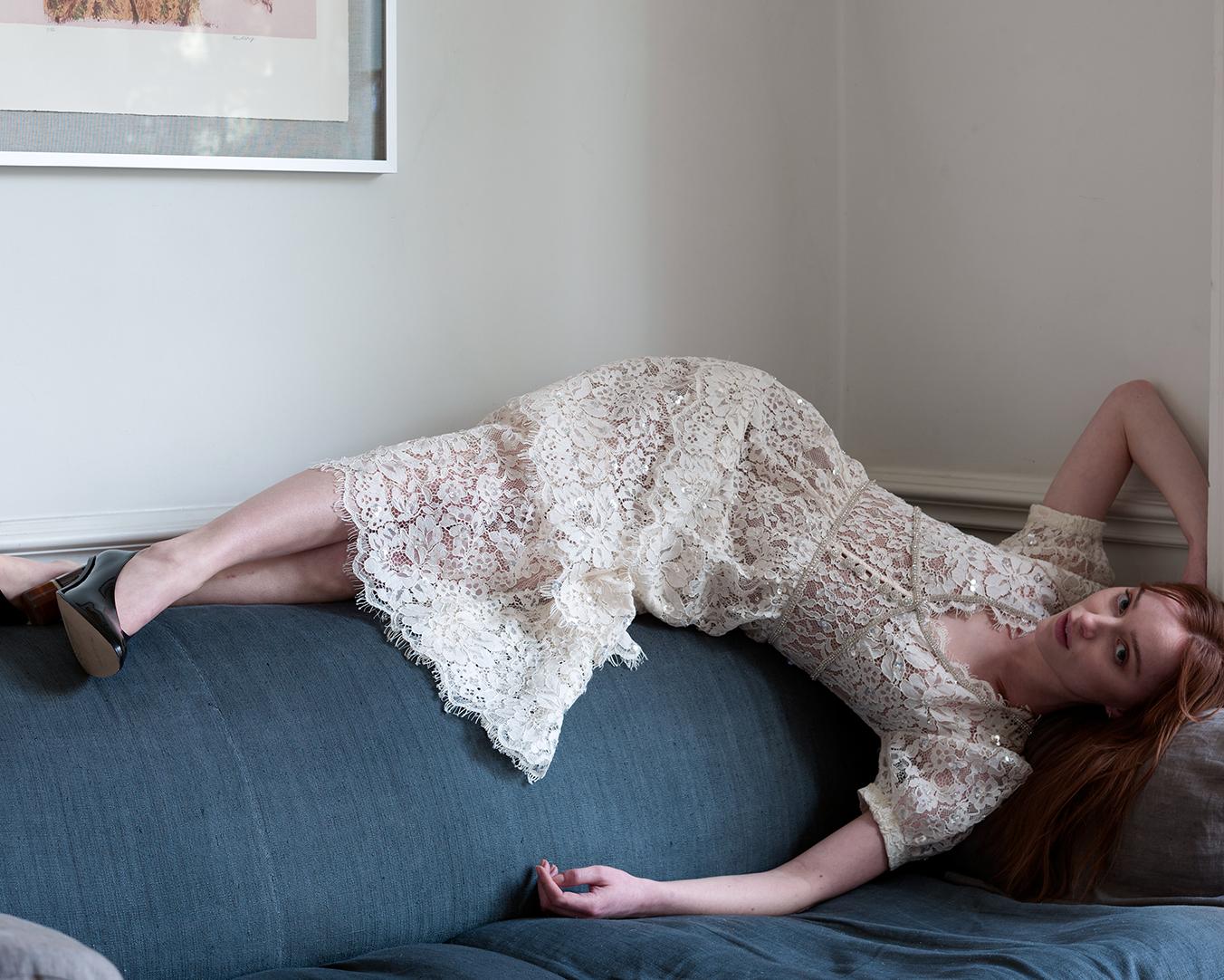 """Звезда """"Бриджертонов"""" стала моделью и появилась в дебютной рекламной кампании-Фото 4"""
