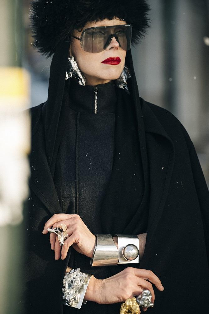 Главные трендыstreetstyleна Неделе Моды в Стокгольме зима 2021-Фото 2
