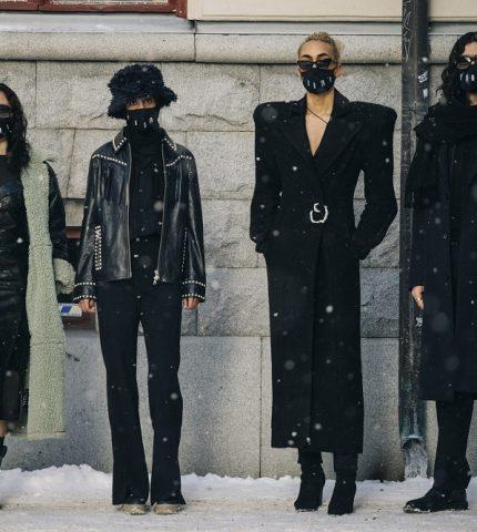 Главные трендыstreetstyleна Неделе Моды в Стокгольме зима 2021-430x480