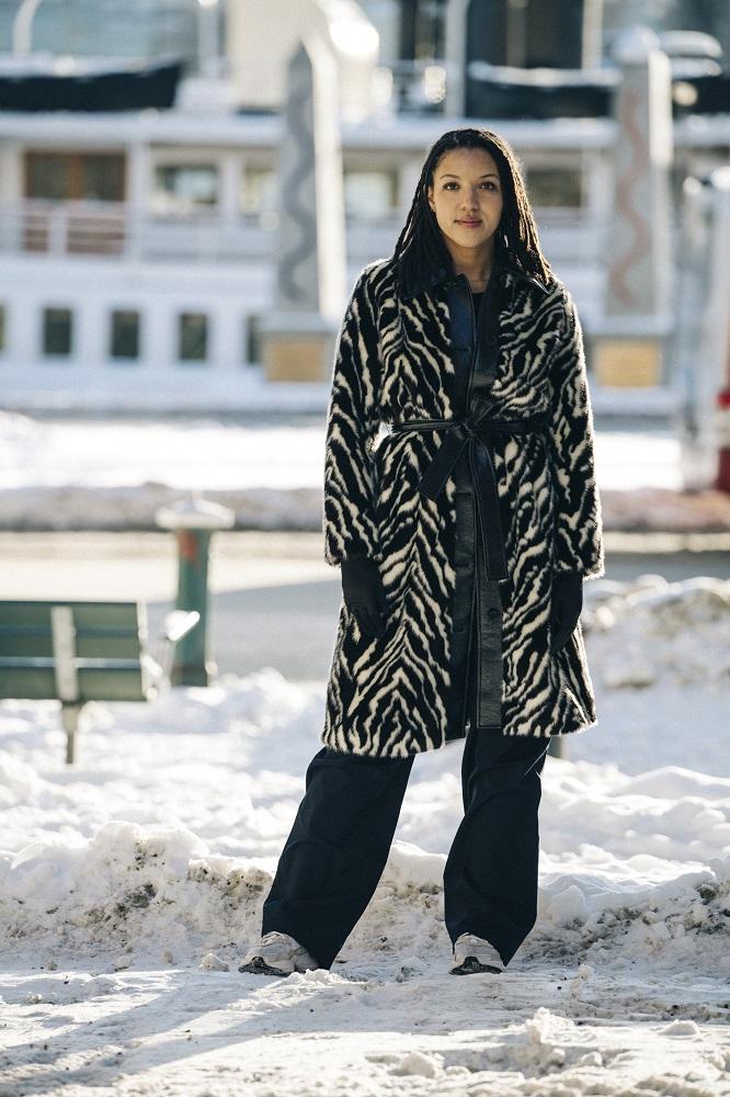 Главные трендыstreetstyleна Неделе Моды в Стокгольме зима 2021-Фото 4