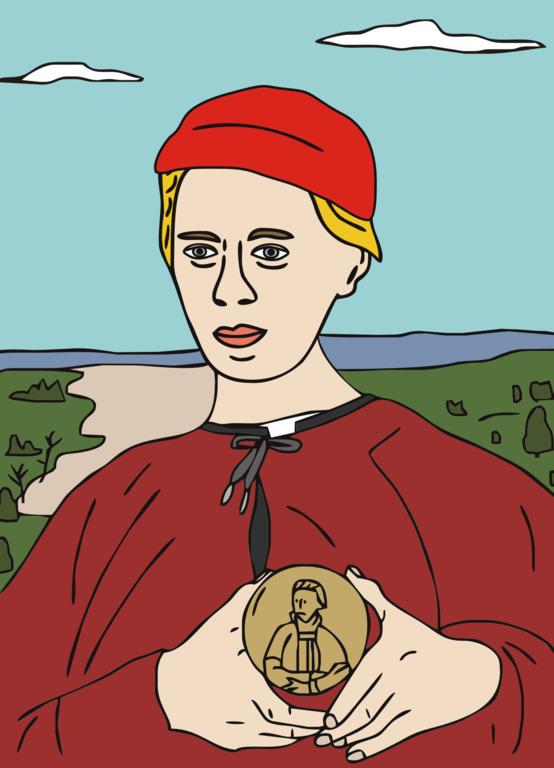 «Яким би міг бути портрет Лесі Українки пензля Пабло Пікассо або Фріди Кало?» — ділиться роздумами український ілюстратор-Фото 5