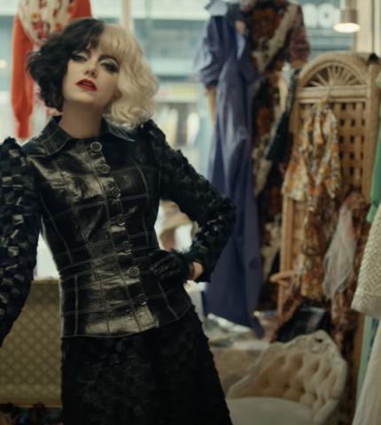 Вышел новый трейлер фильма с Эммой Стоун в образеКруэллыдеВиль-430x480