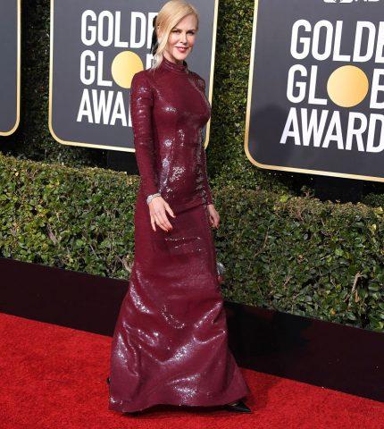 Голливудская классика: Знаковые образы Николь Кидман с церемоний «Золотого глобуса»-430x480