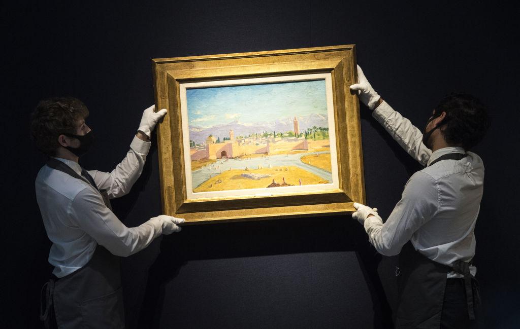Анджелина Джоли продала картину, подаренную ей Брэдом Питтом, за 11, 5 миллионов-Фото 2