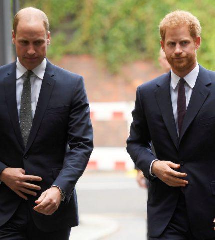 Принц Уильям нарушил тишину, и прокомментировал интервью младшего брата и его супруги-430x480