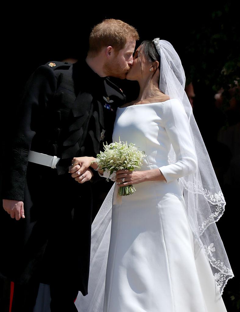 Первая правда: Гарри и Меган соврали о том, что поженились в тайне от других-Фото 2